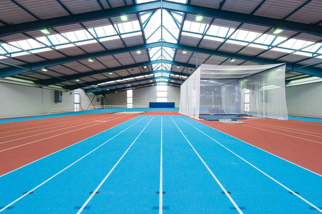 Leichtathletikhalle Münster